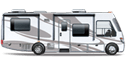 Motorhome Class A Icon - Click this icon to view inventory in this category