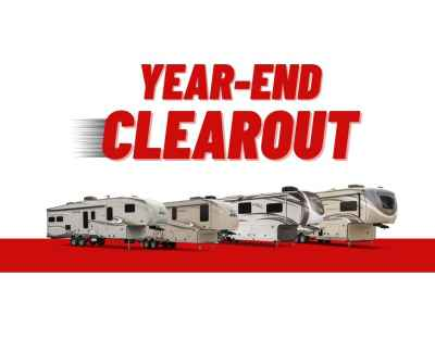 Post thumbnail for Year-End Clearout on 2020 Jayco Fifth Wheels