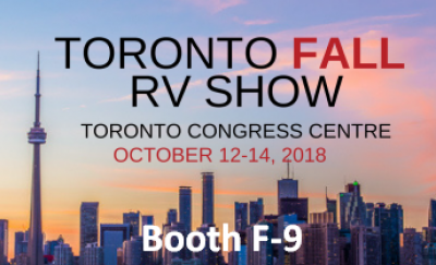 Post thumbnail for 2018 Toronto Fall RV Show at the Congress Centre