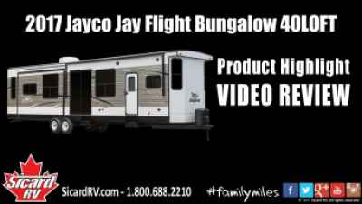 Post thumbnail for Quick Video: 2017 Jayco Jay Flight Bungalow 40LOFT