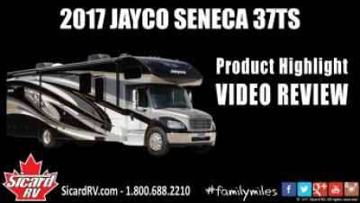 Post thumbnail for Quick Video: 2017 JAYCO SENECA 37TS