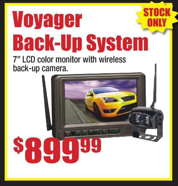 Voyager Wireless Back-Up System