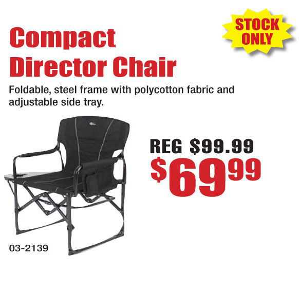 Compact Director Chair