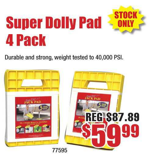 Super Dolly Pad 4 Pack