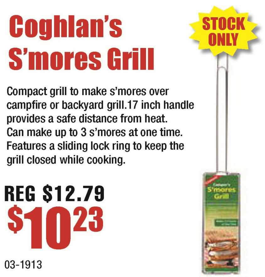 Coghlan's S'mores Grill