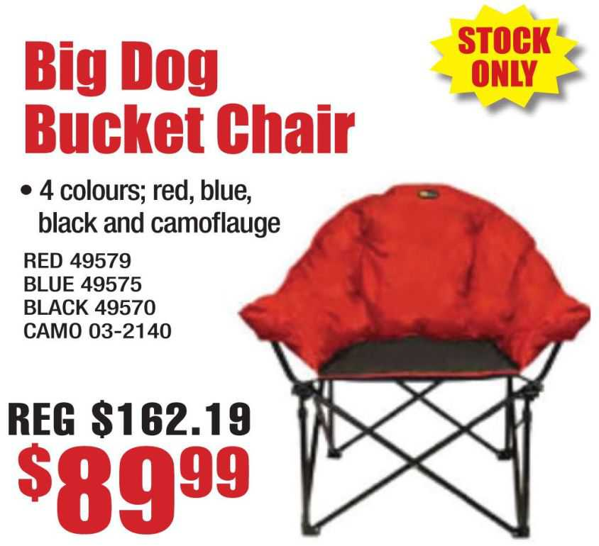 Big Dog Bucket Chair