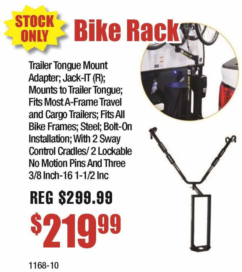 A-Frame Bike Rack