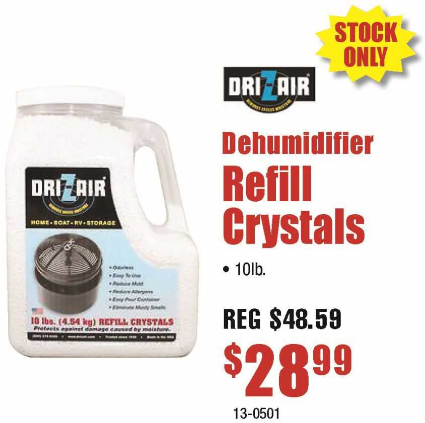 Dri-Z-Air Refil Crystals 10lb