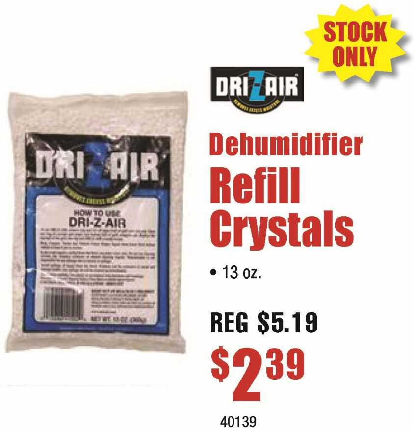 Dri-Z-Air Refil Crystals 13oz