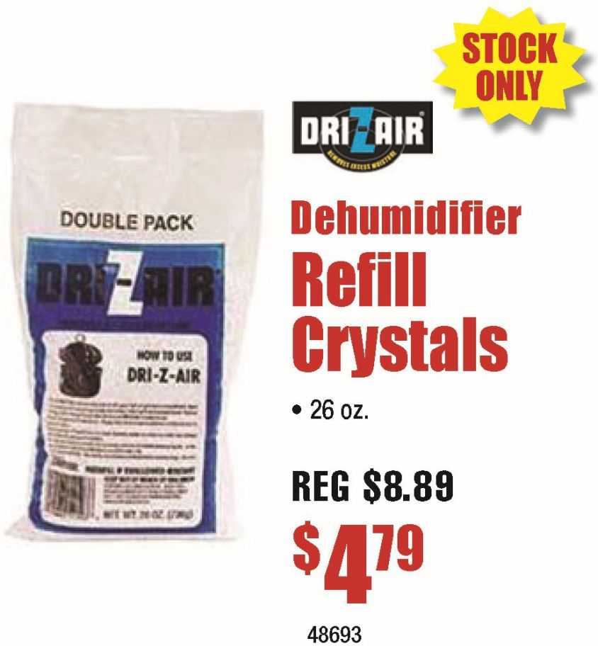 Dri-Z-Air Refil Crystals 26oz
