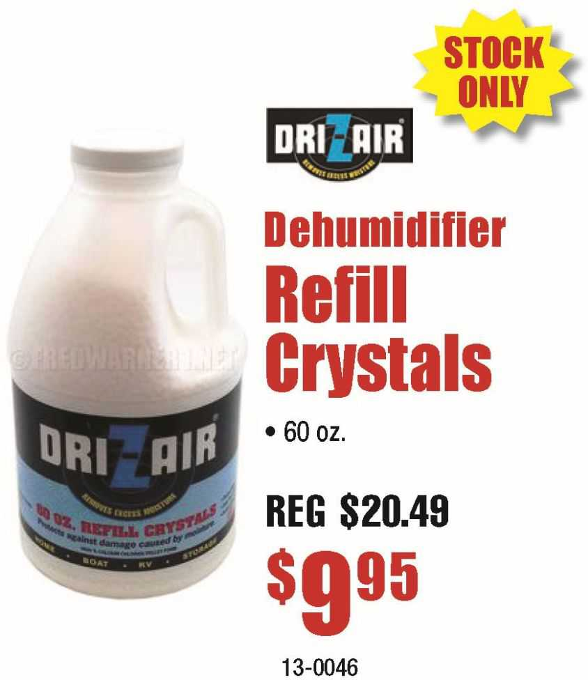 Dri-Z-Air Refil Crystals 60oz