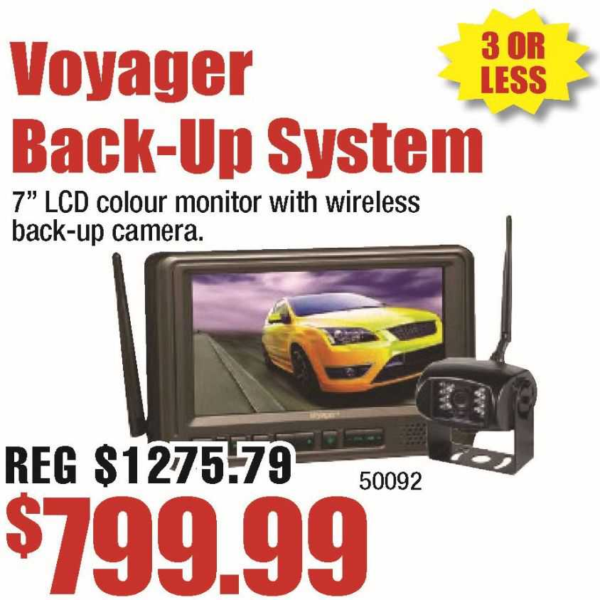 Voyager Back Up System
