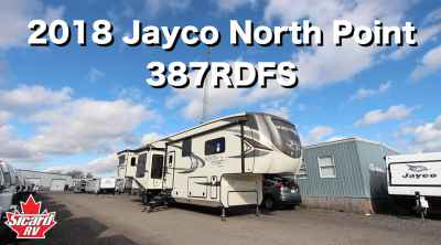 Post thumbnail for 2018 Jayco North Point 387RDFS