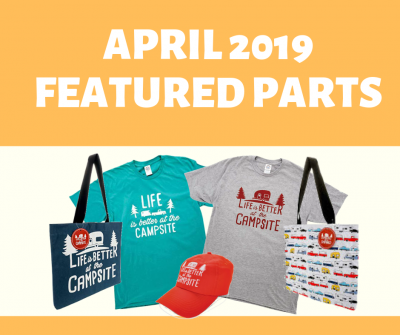Post thumbnail for Featured Parts for April 2019