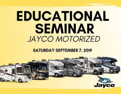 Post thumbnail for Educational Seminar with Jayco on Motorized 2019