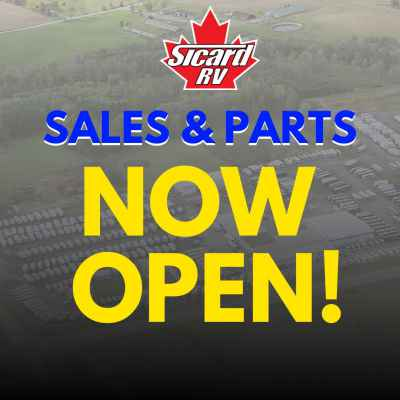 Post thumbnail for Sales & Parts are Now Open!