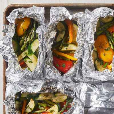 Post thumbnail for What's for Dinner? Grilled Veggies in Foil!