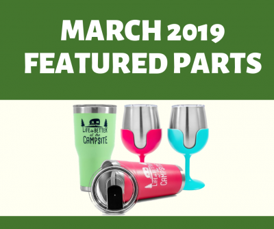 Post thumbnail for Featured Parts for March 2019