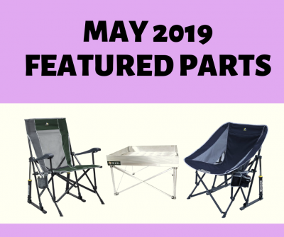 Post thumbnail for Featured Parts for May 2019