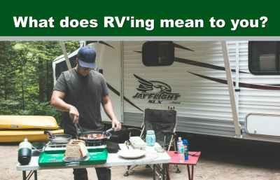 Post thumbnail for What Does RV'ing Mean To YOU?