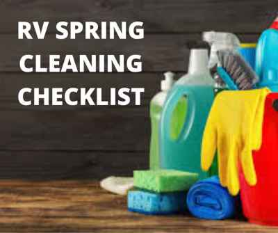 Post thumbnail for RV Spring Cleaning Checklist