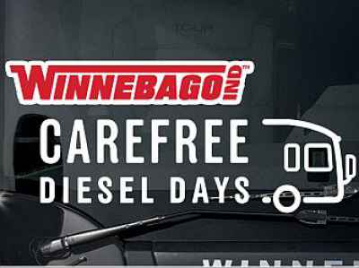 Post thumbnail for Winnebago Extends Diesel Days: 3-Year, 100,000-Mile Warranties on New Diesel Pushers